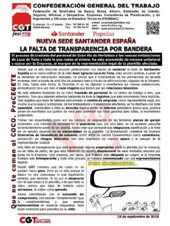 Nueva sede Santander España