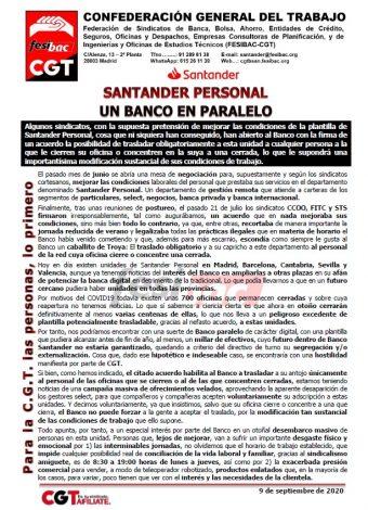 Santander Personal. Un banco en paralelo