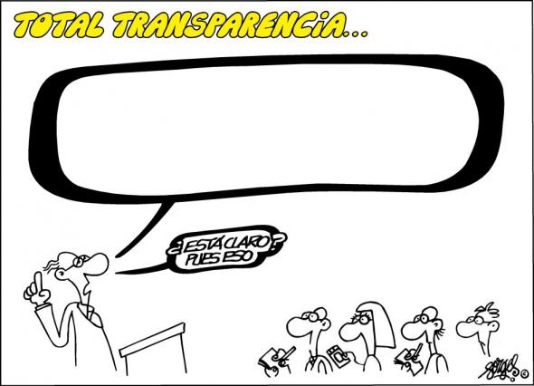 Total transparecencia